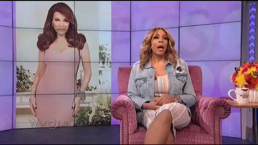 """""""I love her because she wins, girls. All you bitches need Housewives of Beverly Hills. Vanderpump doesn't need you."""" - Wendy Williams @LisaVanderpump #PERIOD #RHOBH"""