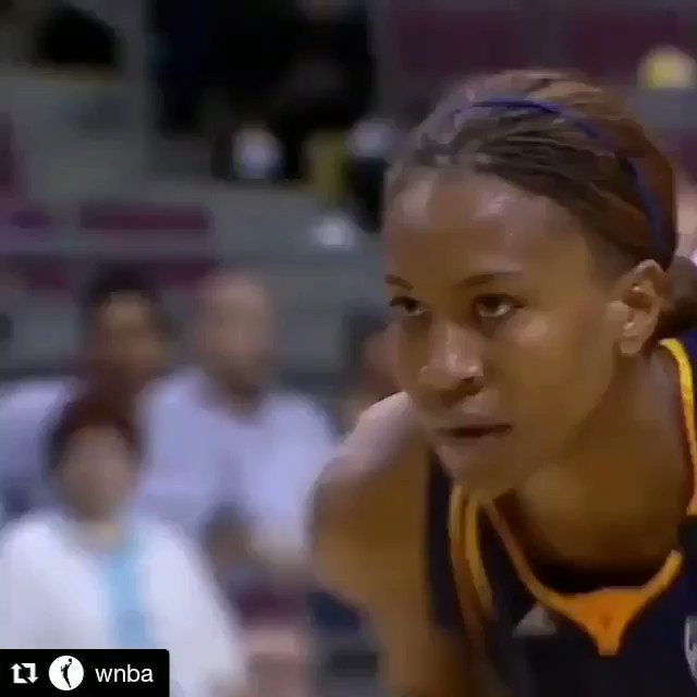 🙏🏽🙏🏽 #Thankful #SoBlessed🙏🏽❤️ ・・・ #TBT to my @wnba career! An @indianafever legend, #WNBAFinals Champ, league MVP, Finals MVP, 10x #WNBAAllStar, a member of the #WNBA Top 20@20, and many more 🏆 #WNBAVault