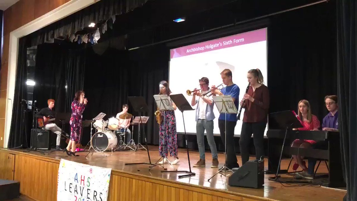 Image for the Tweet beginning: Fabulous Yr13 musicians at @AHSSixth_Form