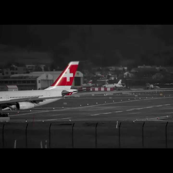 Swiss International Air Lines Special @ Zurich Airport #planespotting 2019 ... soon on YouTube by crosswind ... ... #hbjmi #airbusA340 #hbjbh #a220100 #cs300  #swissinternational @flyswiss #tiltshift #snowyairport #crosswind #crosswindlanding #zrh #airportzurich #aviation
