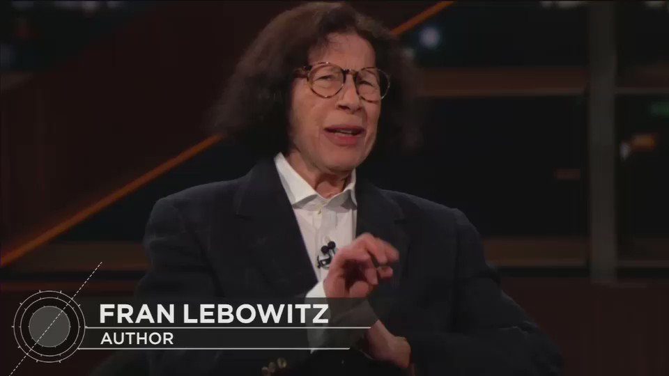 """On Bill Maher, Fran Lebowitz suggests murdering President Donald Trump: """"We should turn him over to the Saudis, his buddies. The same Saudis who got rid of that reporter. Maybe they could do the same for him."""""""