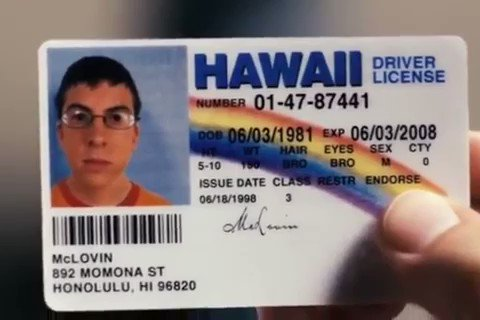 12 years ago, 'Superbad' came out – and McLovin was born. 🎬