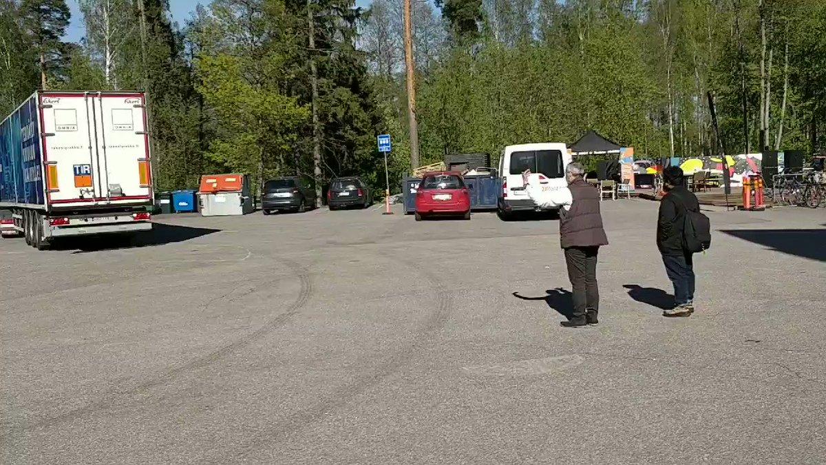 Image for the Tweet beginning: #tekoälyrekka kiertue alkaa. Katso aikataulu