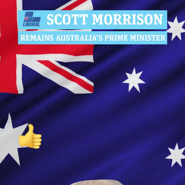 #BREAKING: Scott Morrison has swept to victory in a sensational federal election result that defied the polls and cements the Coalition's power. http://bit.ly/2Hy1JZ5 #Auspol #Ausvotes