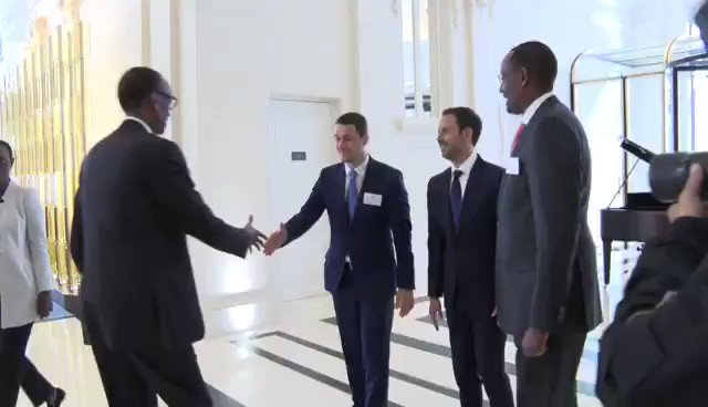 "VIDEO: ""I can't blame other people for our own problems, the biggest part of the problem is ourselves. You should be able to be in a position to refuse or accept something and have a basis."" President Kagame interacts with @YPO Paris Chapter. Full video http://bit.ly/2VLCX1v"