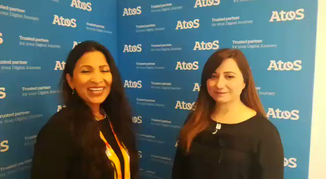 I asked Zeina Zakhour, Global CTO for Cybersecurity @Atos about the digital threat landscape and how global companies can keep themselves safe. Thx @antgrasso for recording! @AkwyZ #WomeninTech #VivaTech #DigitalEdge #AtosTechDays #WomenatAtos #AI #DigitalTransformation