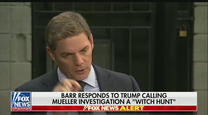 Attorney General Bill Barr: Nancy Pelosi and others are trying to discredit me, partly because they may be concerned about the outcome of a review of what happened during the election when the Obama administration spied on the Trump campaign. #SpyGate