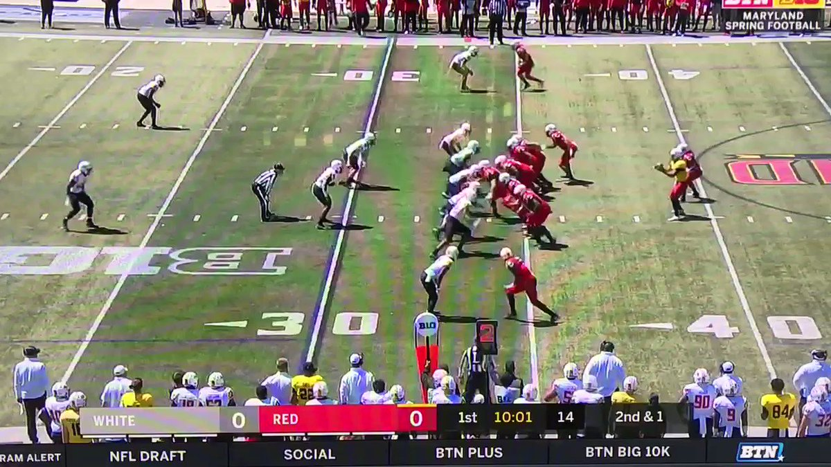 🎥 Maryland Spring Game Give Anthony McFarland a crease — he makes you pay This should bring back nightmares to Ohio State fans, as he went for 298 yards in the near-upset