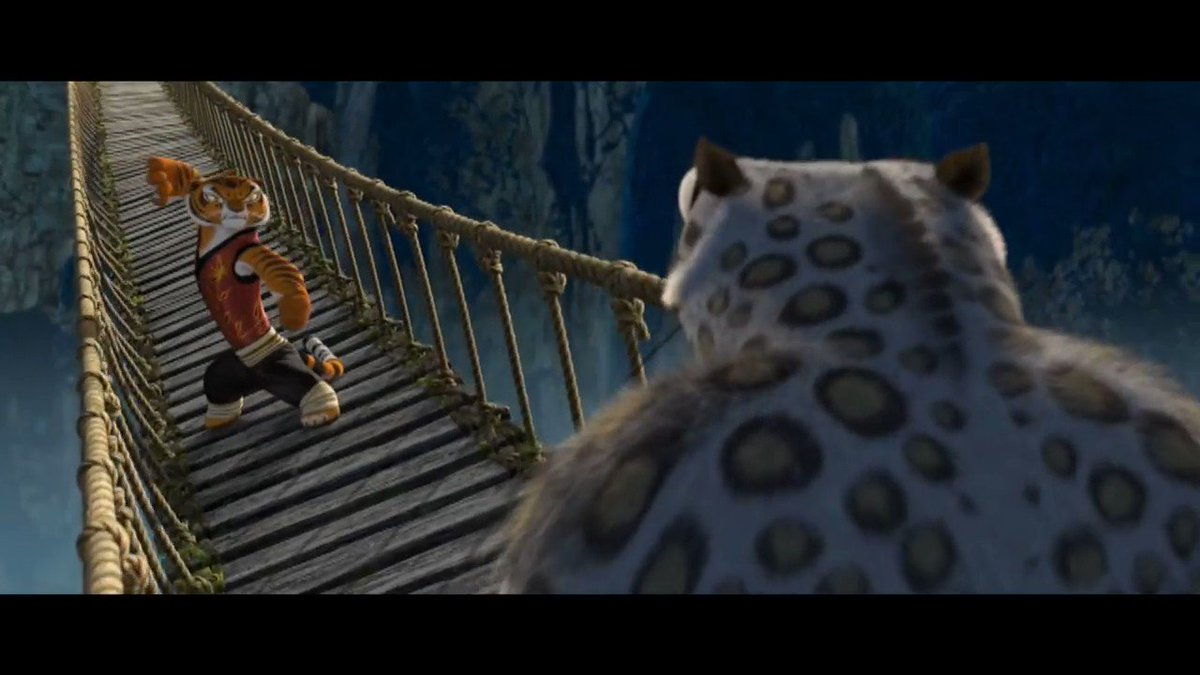 I forgot how well choreographed the bridge fight in Kung Fu Panda was. It really is a well-animated action sequence that really is awesome almost eleven years later.