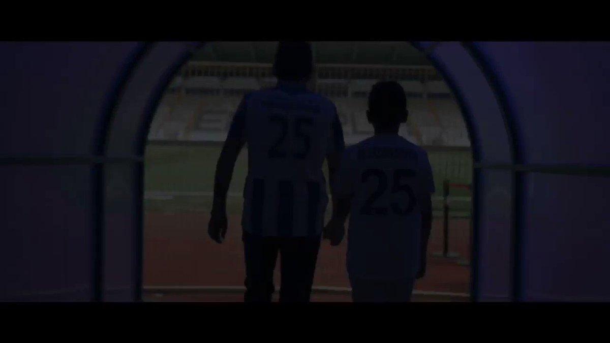 Babadan Oğula Miras Bu Sevda! Bir gün olsun terk etmedik, terk etmeyeceğiz! Senin şehrin senin takımın! Haydi Dadaş Maça!#Erzurumspor