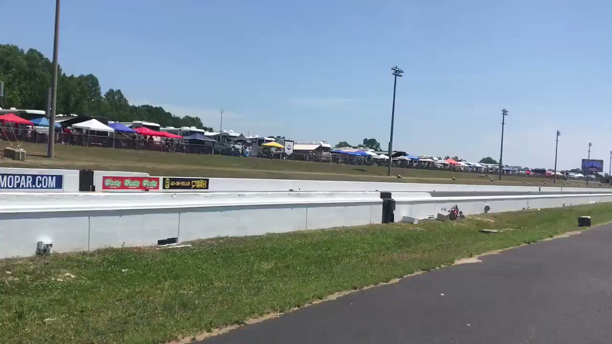 Straight from the @realprp @NHRA - Q3 action. #GarrettMotion and @AeromotiveFuel Tune in below