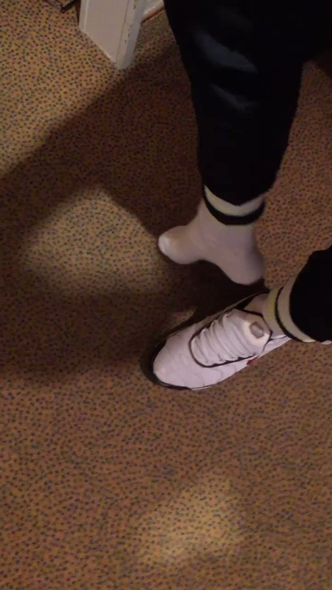 Who wants to sniff ? #sneakers #socks #niketn #master #slave #sniffing #scally #chav