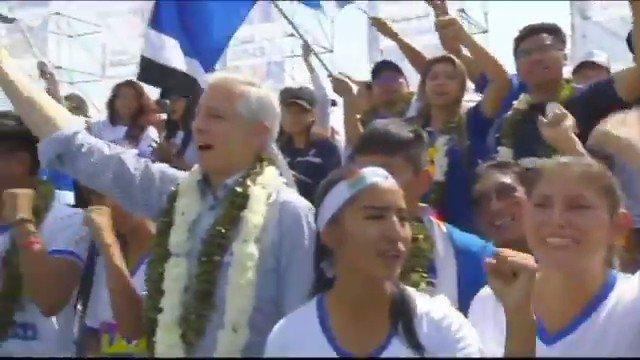 Qué día fuerte en América Latina: en Argentina se consumó la fórmula @alferdez-@CFKArgentina y en Bolivia @evoespueblo y Álvaro García Linera empezaron su campaña ante una verdadera multitud. Vean