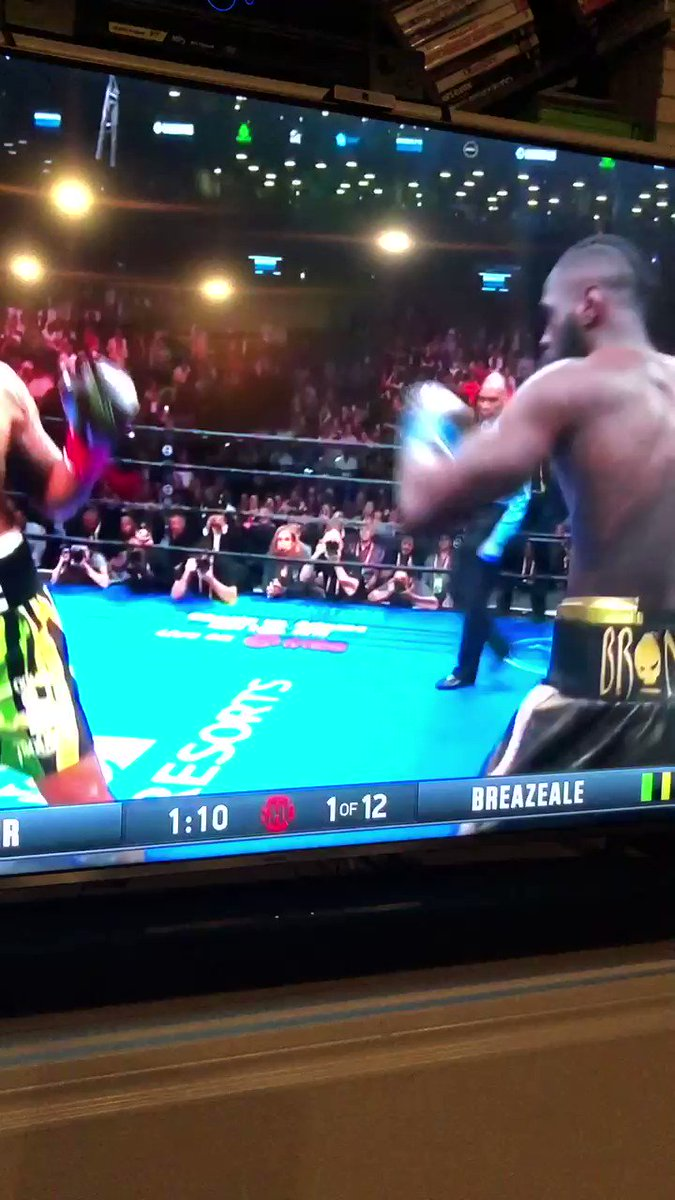 Deontay Wilder Decimates Dominic Breazeale With Massive 1st-Round KO (Video)