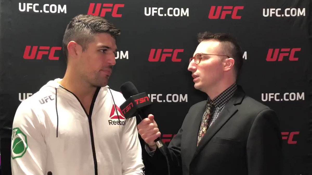 After accepting another short notice opponent, Vicente Luque feels like the UFC owes him and he has a dream scenario in mind.