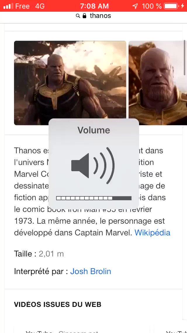 Google a jouer le jeux mdr #AvengersEndgame #AvengersInfinityWar #Avenger #AvengersAssemble #Thanos #InfinityGauntlet #infinitystones #InfinityWar