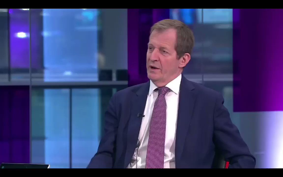 Alastair Campbell - Boris Johnson is a total charlatan. Its an absolute outrage that he is even considered to be PM given that his lying & his charlatanistic behaviour is the main reason were in this complete & total mess. #C4News #PeoplesVote #marr #Ridge @campbellclaret