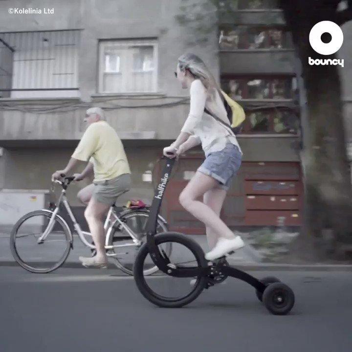 令和のアーバンサイクルはこれが主流になるかも!?🛵by @halfbikes 購入方法はこちら👉#令和 #自転車 #立ちこぎ