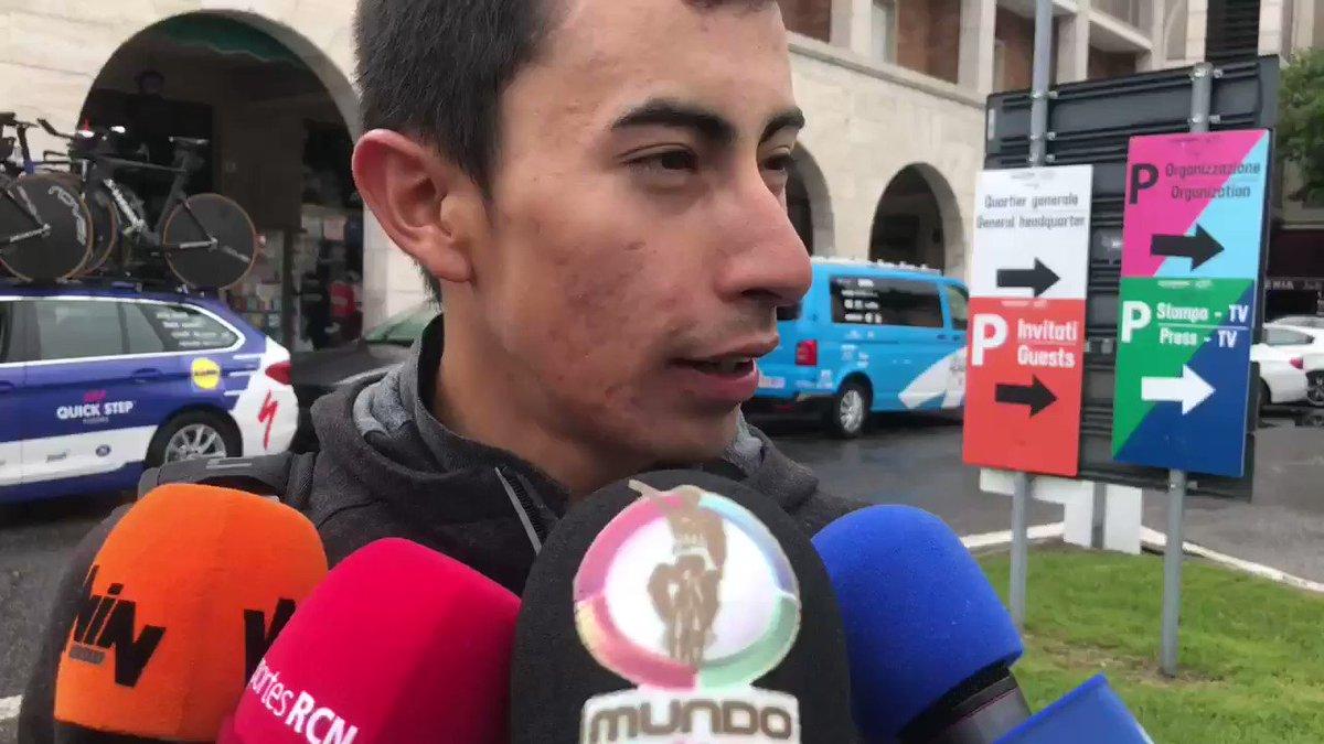 #Giro |  ENTREVISTA @ivansosacuervo (@TeamINEOS) tras la 9a Etapa del @giroditalia (CRI, Riccione-San Marino 34.8K) .#Giro102 #Giro2019 #ElPortalDelCiclismo #VamosEscarabajos