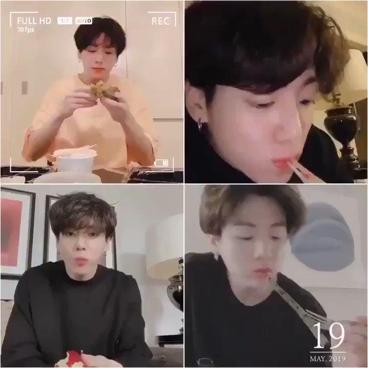 Eat Kook 😋🐰  #JUNGKOOK #정국 #JK #BTS @BTS_twt