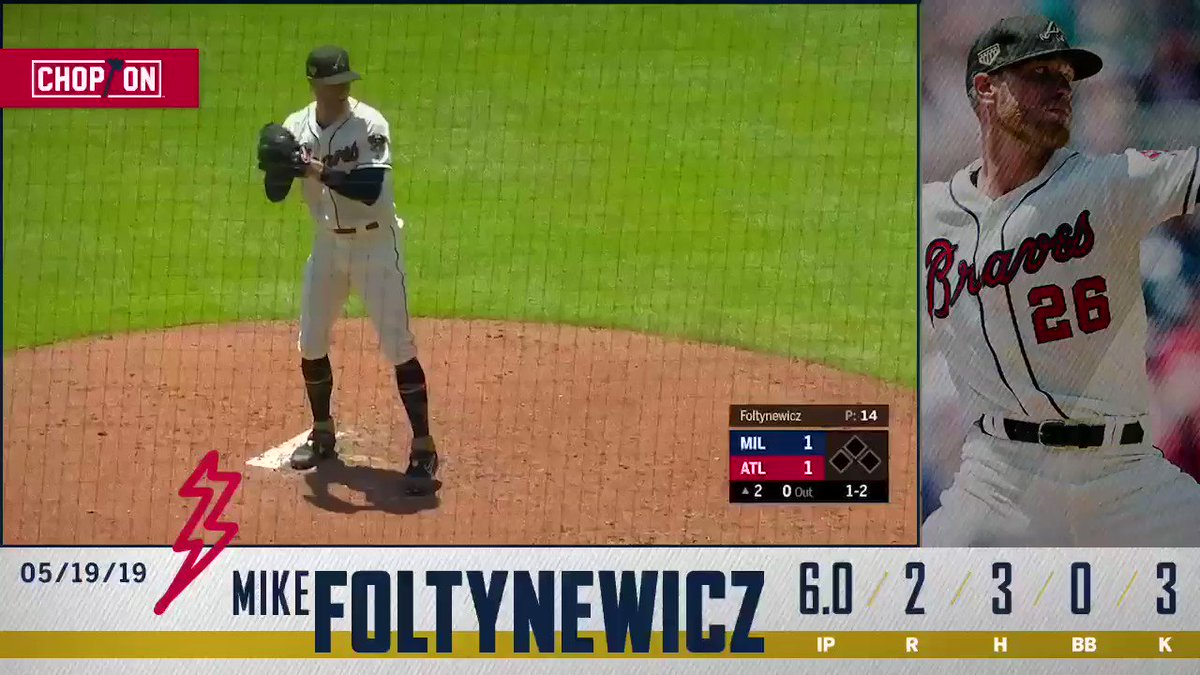 A quality start for @Folty25