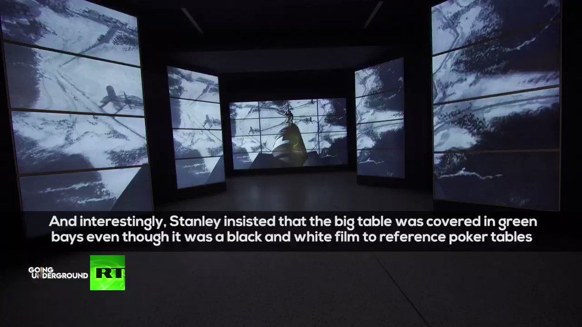 """.@afshinrattansi: """"The Atomic Scientist Bulletin says we're closer to Armageddon than when Stanley Kubrick made Dr Strangelove"""" Katharine's Kubrick: Let's just hope he didn't make a documentary Katharina Kubrick joins us tomorrow to discuss the Stanley Kubrick exhibition!"""