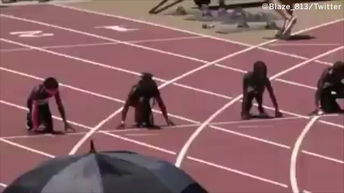 Video Of This 7-Year-Old's 100M Dash Is Ridiculous