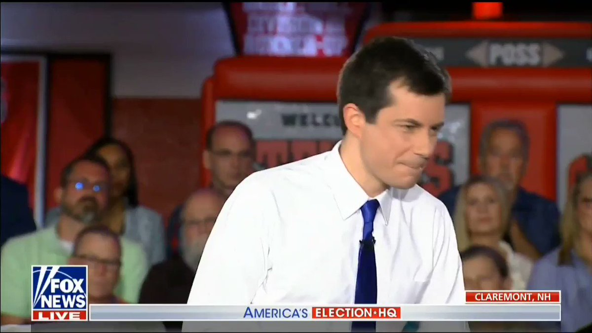 """""""I trust women to draw the line."""" @PeteButtigieg when asked about term limits on abortion."""