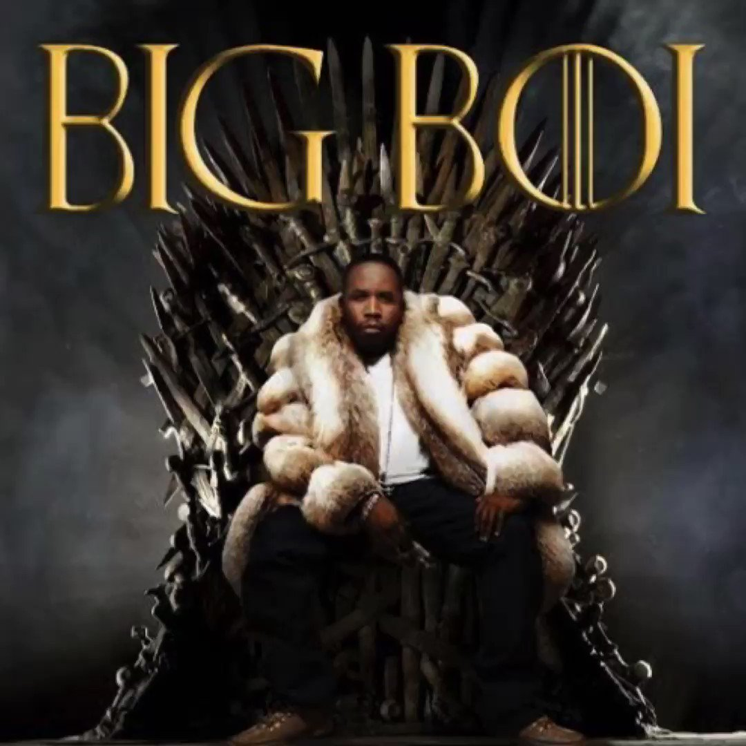 "Big Boi "" Mother Of Dragons "" #GameOfThronesFinale #GameOfThrones https://t.co/XS5EBy2vie"