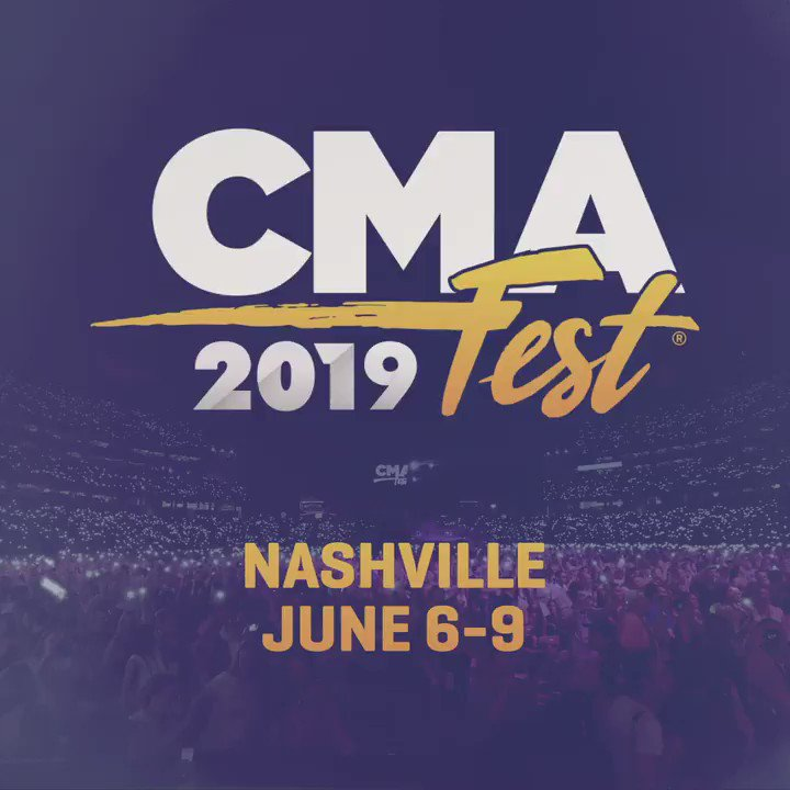 Image for the Tweet beginning: #CMAfest is ALMOST HERE!!! Who