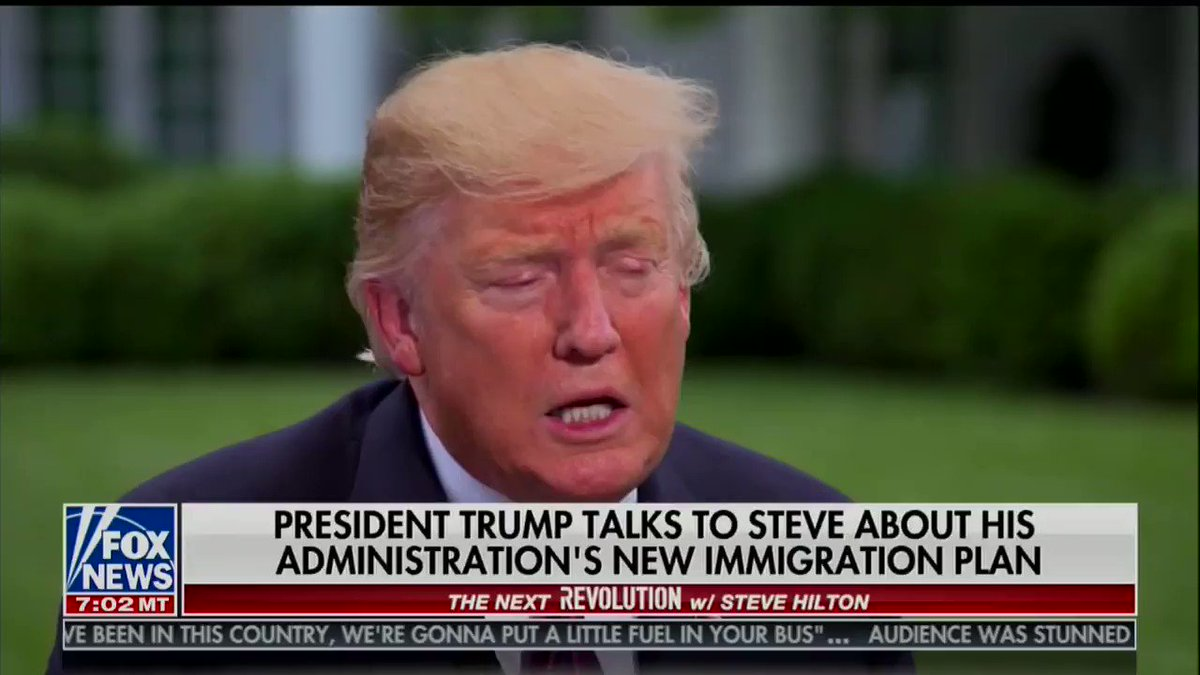 Trump gives up the game he's playing with Congress during Fox News interview