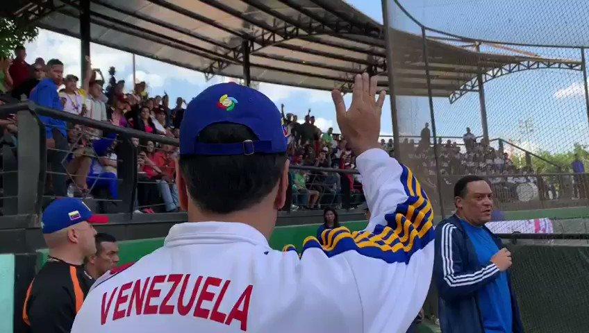 Agradezco al pueblo venezolano que nos acompañó en la justa deportiva de paz y hermandad que celebramos este domingo #19May. Reciban todo mi amor y respeto.