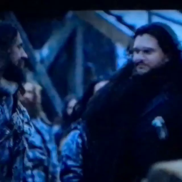 The best part of game of thrones tonight jon and ghost back together #GameofThrones