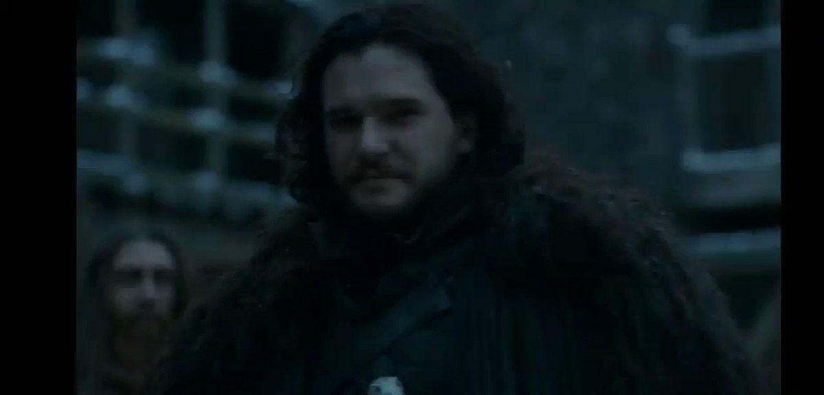 #GameofThrones  #Gohst #JonSnow  I think this is the best moment of the episode 6😭😭