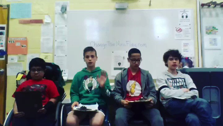 Join the Fort River 6th grade students to pass the Bill (HD.2968 and SD.1495) to change the current Massachusetts State Flag, with a flag that represents Native Americans in a less violent and more welcoming way. Watch and share on social media then make your own video!