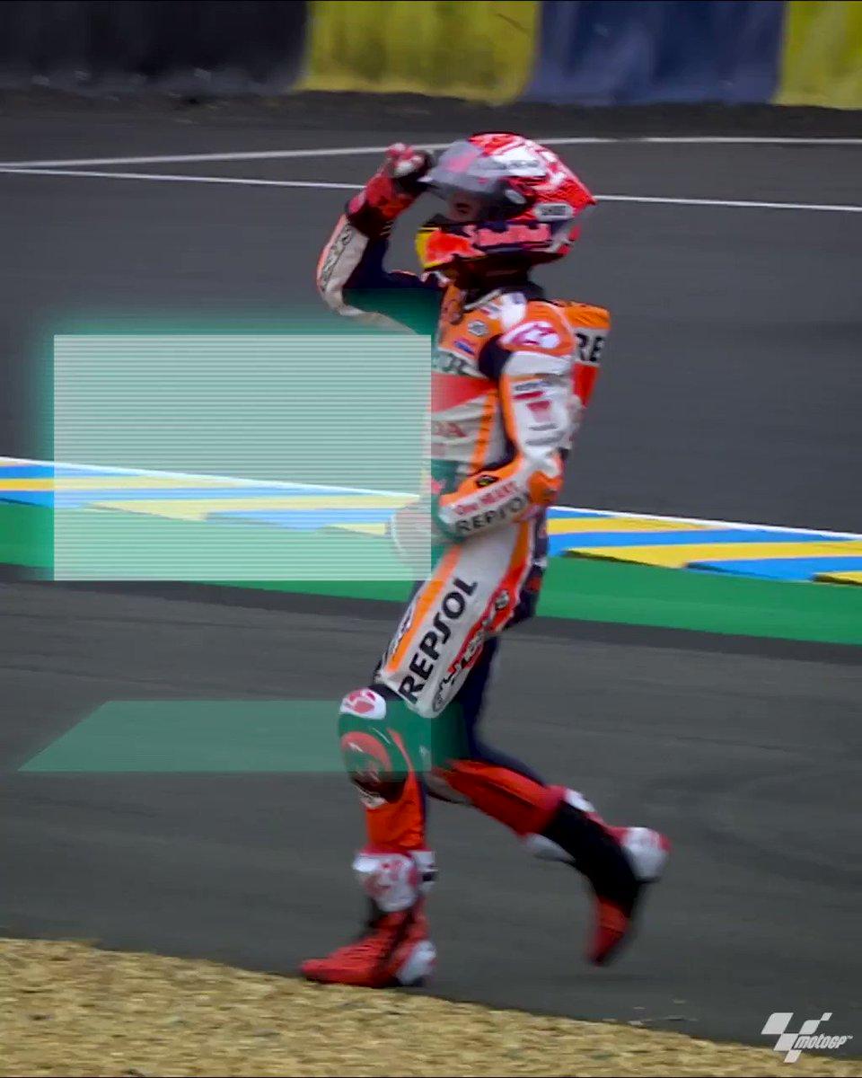 😀 #FrenchGP  @MotoGP