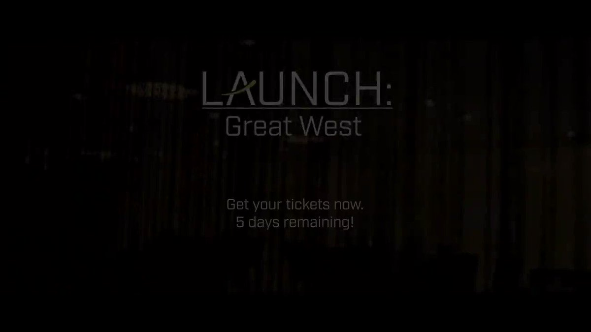It's the final week to snag yourself a ticket to #LaunchGW '19. There's limited tickets remaining and we expect to sell out, so don't miss the boat: https://t.co/uDiQQopVMX If you've already grabbed your #goldenticket, dust off your black tie & prepare for an evening to remember!