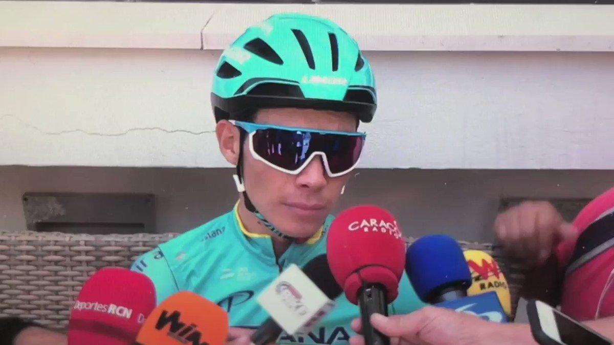 #Giro |  ENTREVISTA @SupermanlopezN (@AstanaTeam) en el 1er DÍA DE DESCANSO del @giroditalia (Riccione) .#Giro102 #Giro2019 #ElPortalDelCiclismo #VamosEscarabajos
