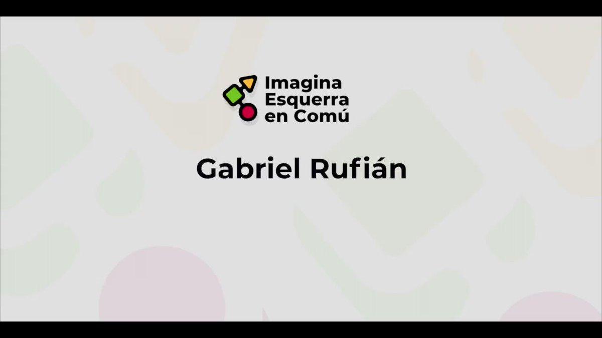 @gabrielrufian dona suport a Imagina Esquerra en Comú @IEC_LF i a en @RafaBernabeP perquè són un model de valors republicans i de lluita per la justícia social. A #lesfranqueses #avancem amb Imagina Esquerra en Comú