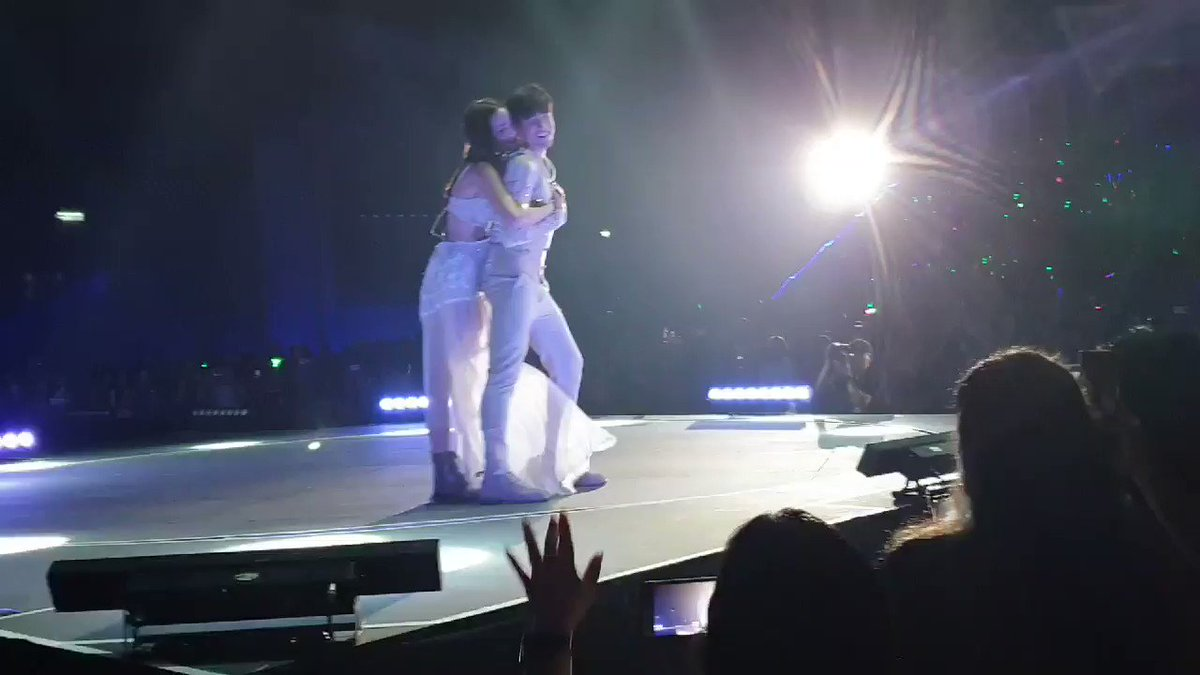 The true partner-in-crime. These two not only support each other but they also challenge each other as well, to do better, to be better. This happens when two souls find their mates. Great job as always you two. I couldn't be more proud! #Love #TheRealNadechConcert