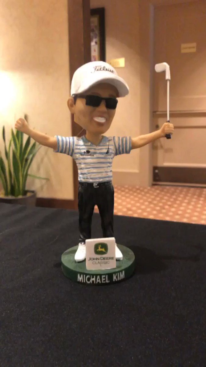 Image for the Tweet beginning: Was Media Day a success?? Bobblehead