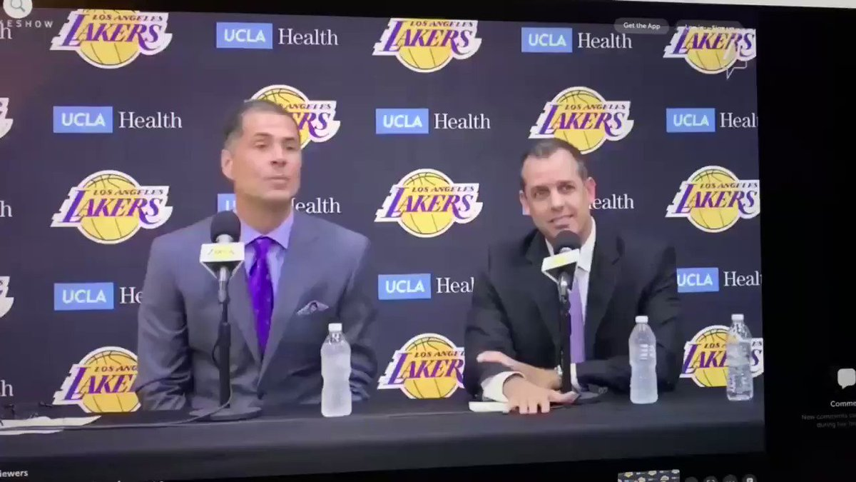 A Reporter Asked A Highly-Disrespectful Question At Today's Lakers Press Conference