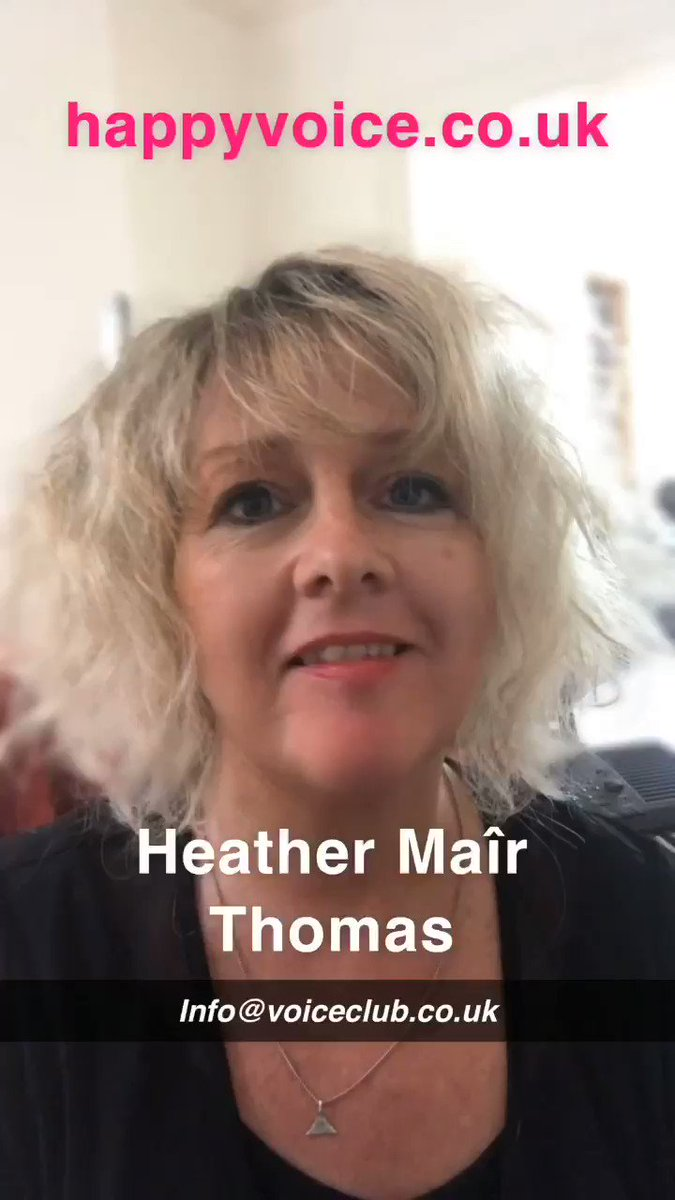 "60 second explainer for our new Voice Club singing course ⁦""Relax & Sing"" Intro to #singingtechnique for adult beginners ⁦@HTHArtsCentre⁩ Here director ⁦@heathermair⁩ explains why there's nothing to fear! #crouchend #london #sing #relax #breathe #confidenceboost"