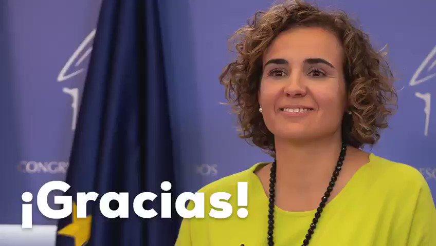 Gracias @DolorsMM por estos años de servicio a #España🇪🇸 desde el Congreso de los Diputados.  Antes ya lo hiciste como concejal de Sant Sadurní y ahora toca seguir defendiéndonos a todos los españoles desde #Europa🇪🇺  Orgullosos de ti!! 💙  #26M #votaPP @populares