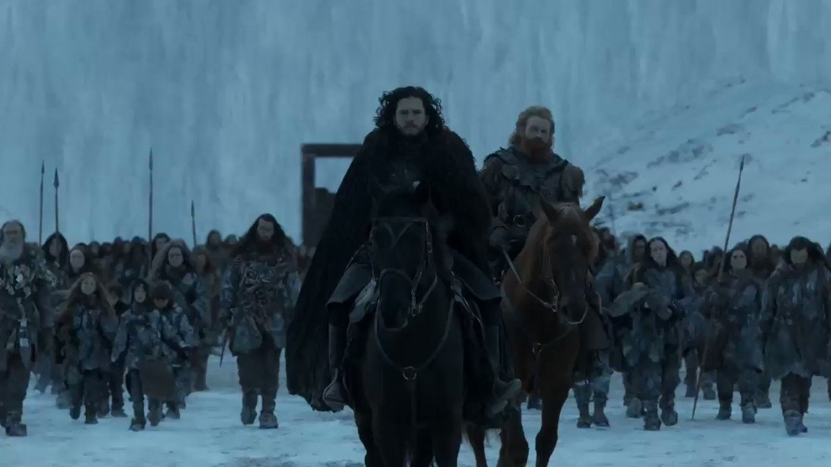 Say what you will about the #GameOfThronesFinale, the John Hughes homage was a bold choice to end on.