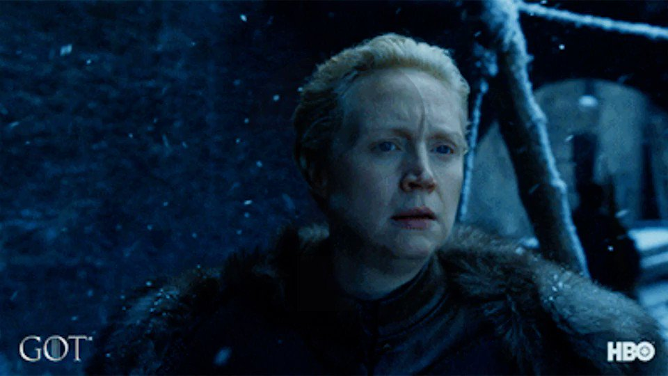 Q: What does Brienne name her sword from Jaime Lannister? #NationalStreamingDay