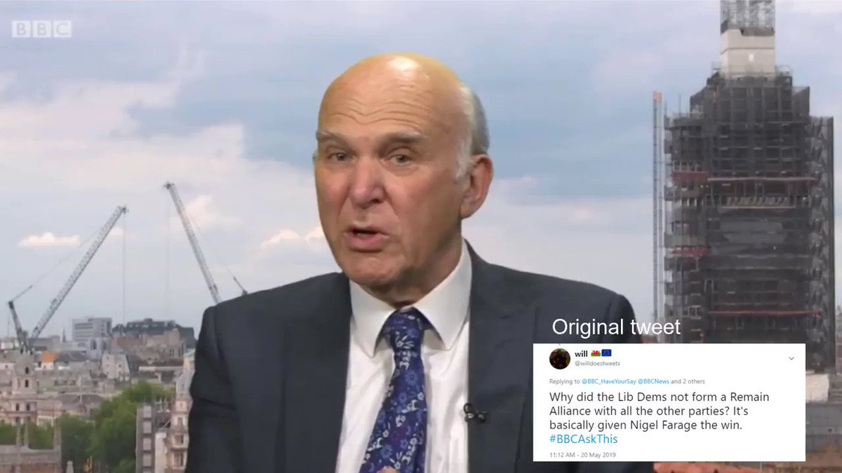 Thank you @vincecable for giving a straight answer to my question on #BBCAskThis