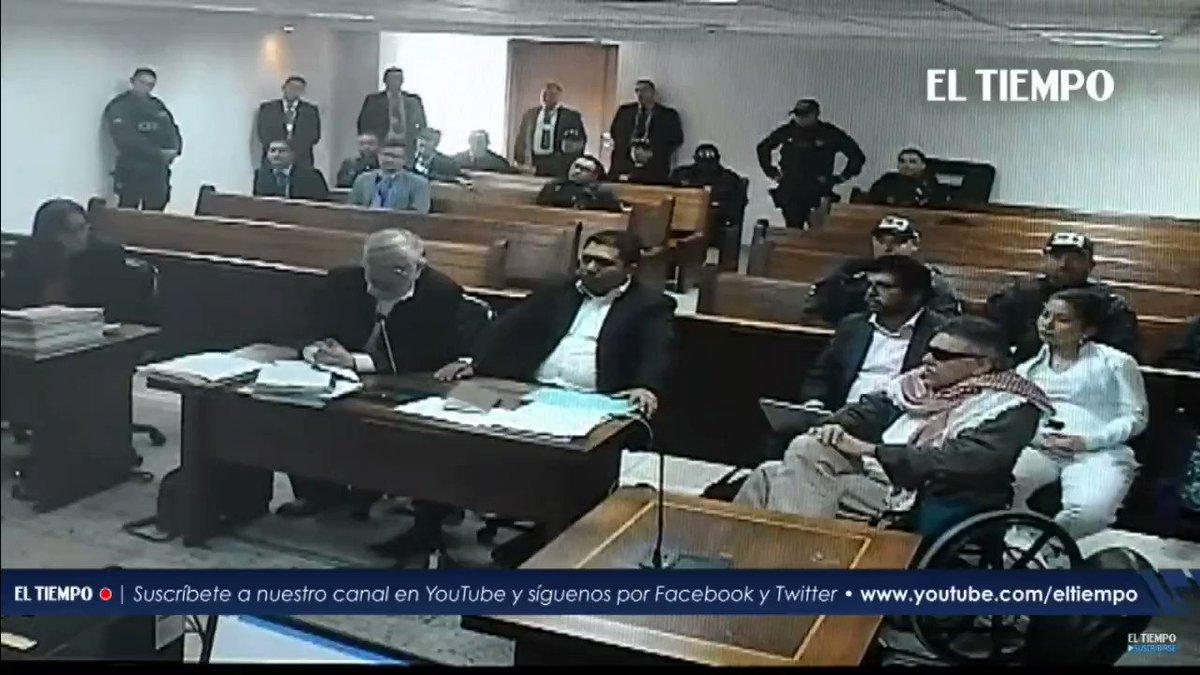 #ParaVer Defensa Santrich en audiencia #AEstaHora admite que competencia sobre el caso del guerrillero es de la jurisdicción ordinaria al tratarse de delitos que no son de competencia de la JEP, luego SÍ procedía la extradición, como lo advirtieron magistradas que salvaron voto