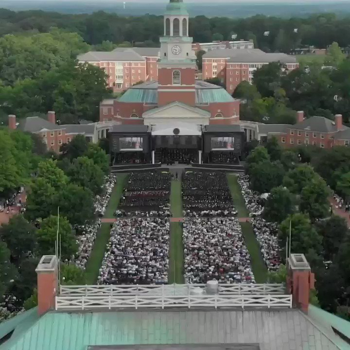 It's only fitting that this journey reaches its end with a new beginning. Congratulations, #Classof2019! #WFUGrad 🎓  🎬 by Mike Shaw, Travis Van Sweden / WFU