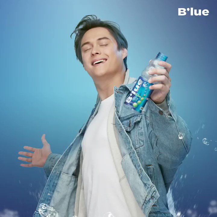 #BlueQuenGIFyou a #FreshAndNew time kahit busy buong day. Keep calm and carry B'lue with you!
